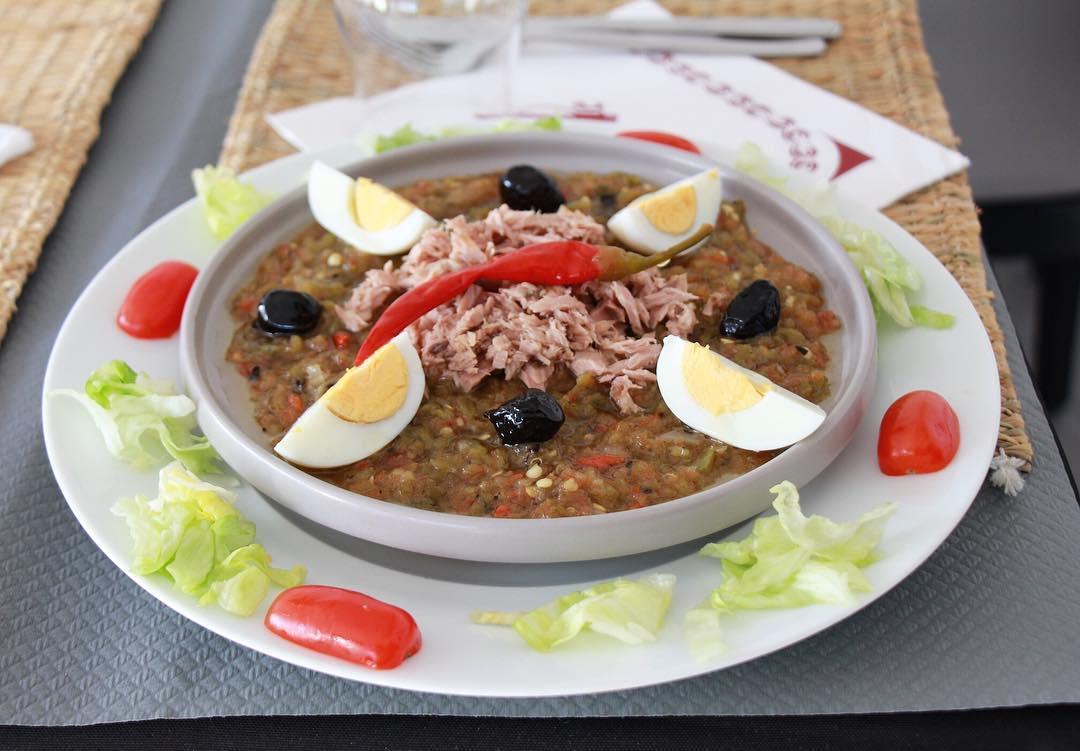 Salade de légumes grillés restaurant morangis